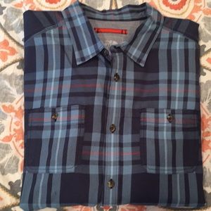 Men's North Face Button Down Shirt